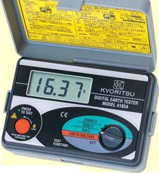 Đồng hồ đo điện trở nối đất Kyoritsu 4105A, Teromet 4105A